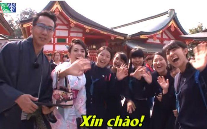 ベトナムのTV番組に夢館が紹介されました♪