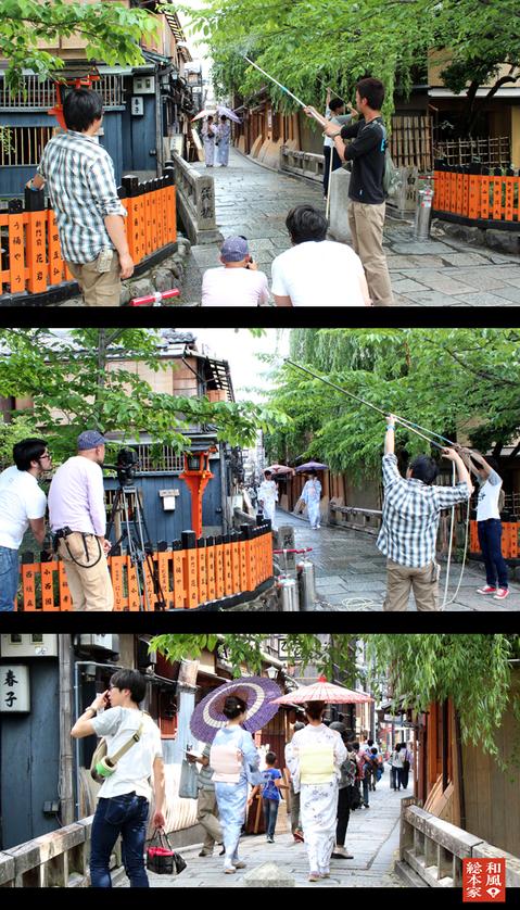 和風総本家「梅雨を支える職人たち」衣装提供