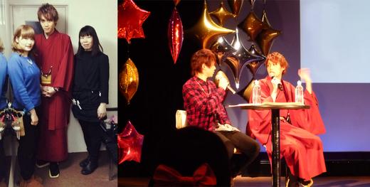 俳優、碕理人さんのお誕生日イベントでご利用頂きました