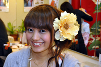 日本テレビ「oha!4」ニュースライブ  夢館着物レンタルが紹介されました。