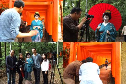 韓国国営放送KBSに芸妓衣装・メイク協力