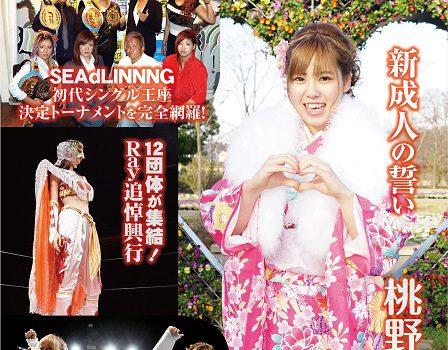女子プロレスマガジン Joshi Puroresu Vol.22に衣装協力しました♪